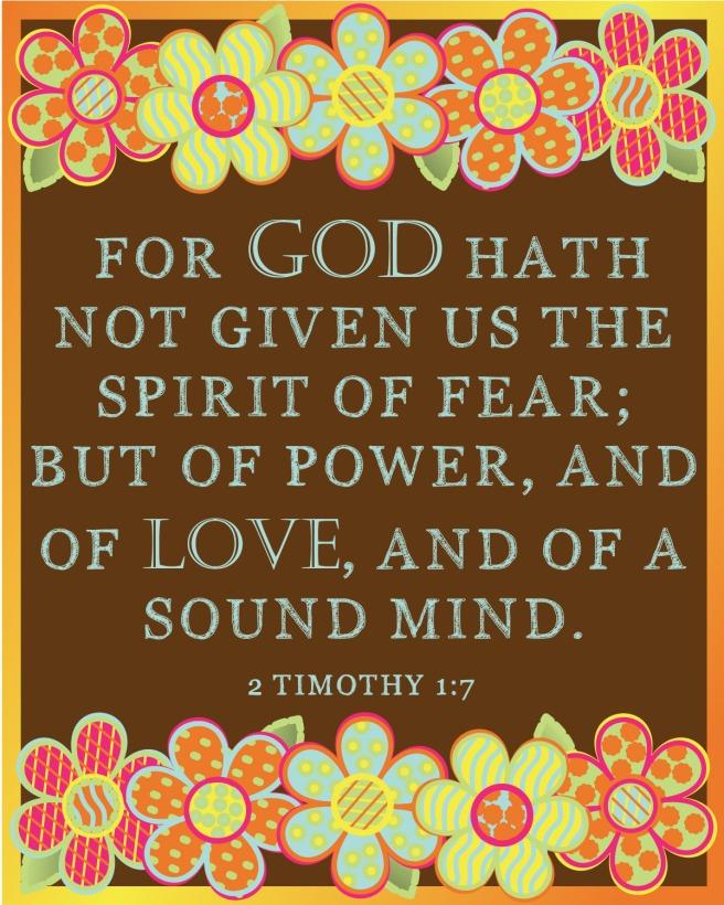 1 Timothy 1:7
